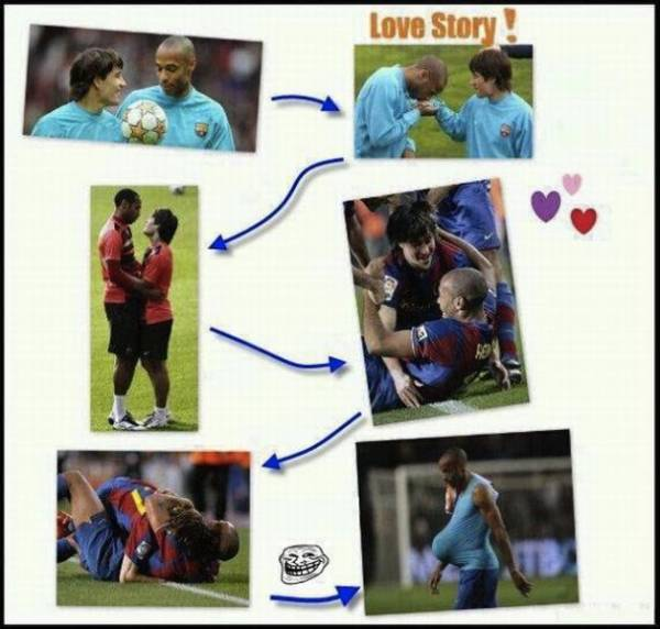Voetbal LOVE story