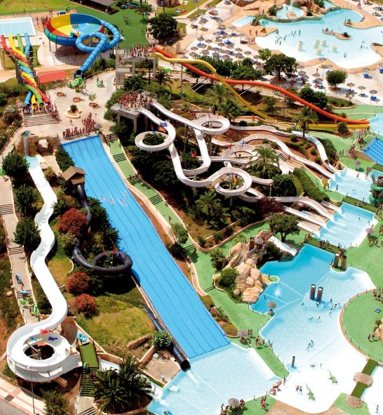 Waterpark Aquarama in Spanje