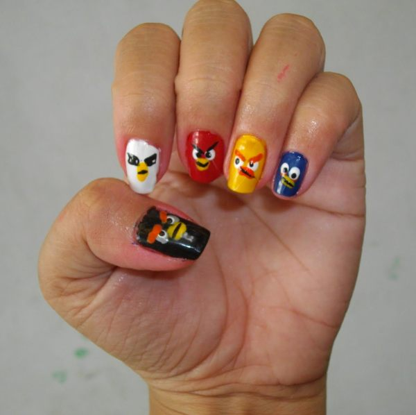 Angry Birds nagels